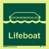 Lifeboat sign