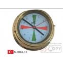 Vardiye Saati 200mm Krom (Telsiz Tip)