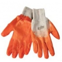 Gloves working cotton rubber