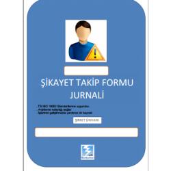 Şikayet Takip Formu jurnali