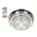 Chrome ceiling lamp No.: 3 LED type