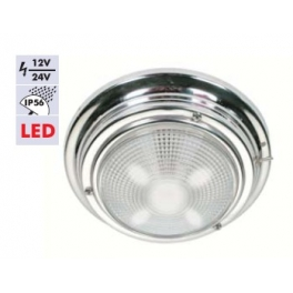 Krom tavan lambası no:3 LED li