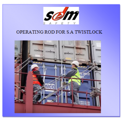 OPERATING ROD FOR S.A TWISTLOCK