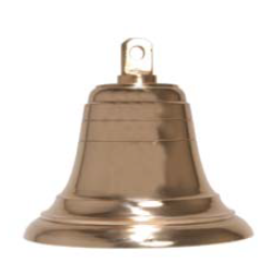 Bell Signal Cast Brass 200mm