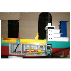 SHIP MODEL FOR EDUCATIONAL PURPOSES