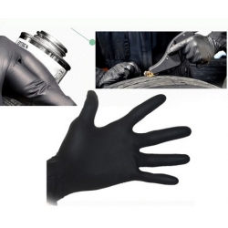 Nitril Siyah Eldiven