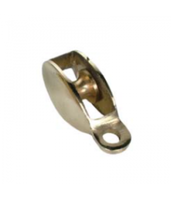 BLOCK FLAG BRASS 50MM