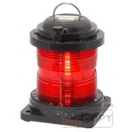 SN50 Tekli Kırmızı Çakarlı Fener